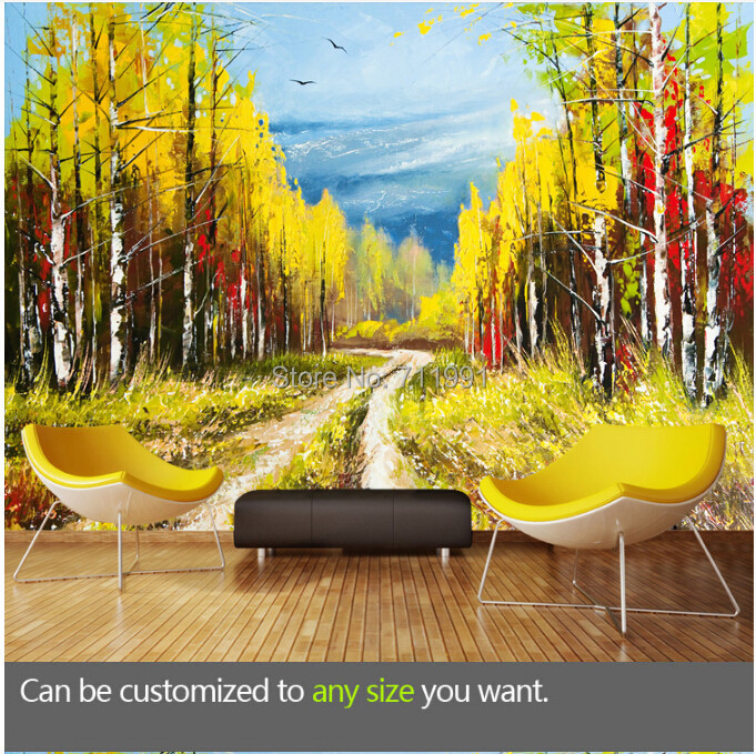 Custom retro wallpaper. European landscape painting. 3D wallpaper for living room bedroom kitchen wall waterproof wallpaper.<br><br>Aliexpress