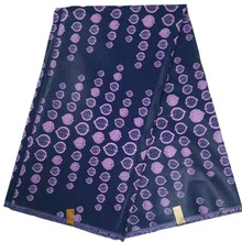 NJ-R8105 Hot sale purple african wax fabric high quality 2017 super java fabric hollandais dutch real wax for women dress