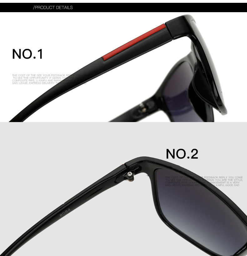 High Quality Square Sunglasses Men Retro Vintage Sunglass Driving Sun Glasses For Men Male Sunglass 2018 Shades (24)