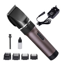 2017 New Charge/Power 2-in-1 Electric Child/Men Haircut Machine EU US UK plug Charging Hair Clippers Trimmer Tool Beard Razor(China)