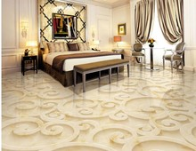 Buy Romantic warm 3d floor mural wallpaper modern Flowers 3d flooring Shopping mall kitchen mural wallpaper 3d floor for $24.00 in AliExpress store