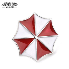 ASACH Brand Film Resident Evil Brooch Pins Umbrella Company Logo Brooches For Men Boys Fashion Jewelry Accessories broches Gifts