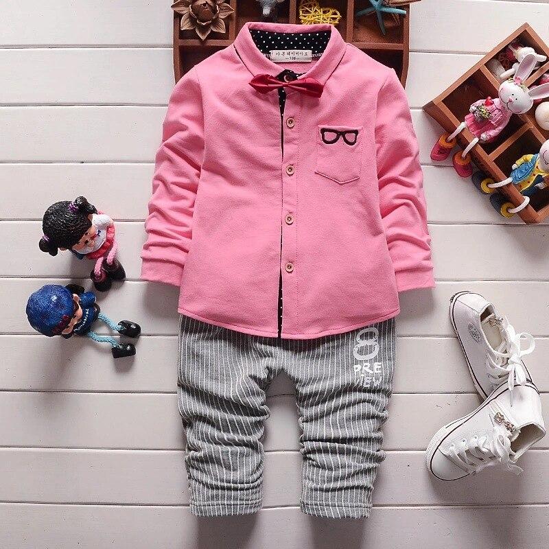 2017 New children clothing set stars boys set baby regular sets long coat+pants 2 pcs full set clothes kids suit cotton 2-5 Year<br><br>Aliexpress