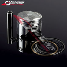 4XSet Free Shipping Motorcycle Piston with rings Kit Set For Honda CBR400 NC23/29 CB400 92-98