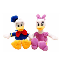 30cm 2pcs/lot Genuine Donald Duck Daisy Duck doll plush toy children's Day gifts , christmas gift free shipping