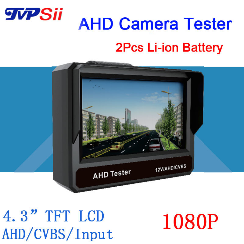 4.3 inch TFT LCD MONITOR COLOR Two in One1080P/ 960P/720P/ D1 AHD CCTV CAMERA TESTER Test Freeshipping<br><br>Aliexpress
