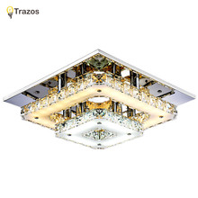 Modern Crystal LED Ceiling lights Fixture For Indoor Lamp lamparas de techo Surface Mounting Ceiling Lamp For Bedroom