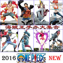 Anime One Piece Action Figure King of Artist Gear 4 Fourth Monkey D Luffy Ace Hancock Mihawk PVC Collection Model Toy(China)