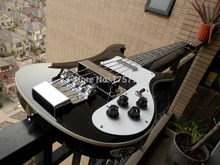 Factory custom 2015 Newest Custom Nice black Bass Guitar 4 Strings 4003 Rick Electric Bass In Stock 315(China)