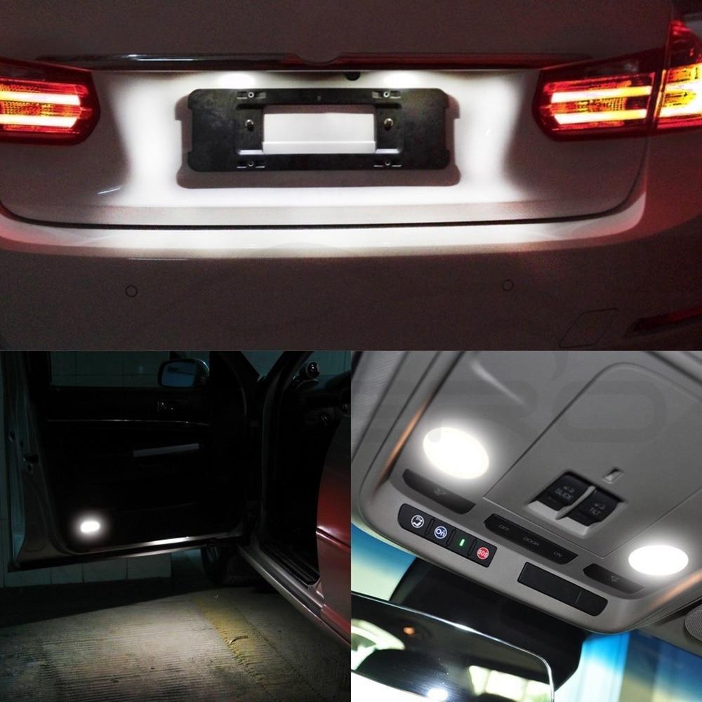 Hviero T10 Wedge LED Canbus OBC Error Free W5w bulbs COB Auto Car Led mobile Parking Bulbs Signal light Side marker Reading Lamp DC 12V