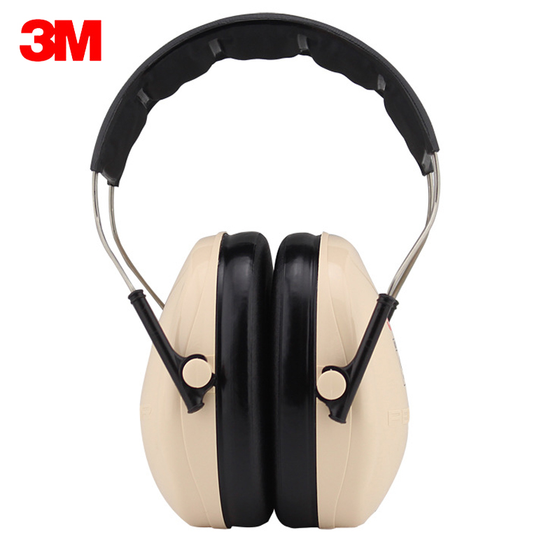 3M H6A Safety Anti-noise Earmuffs Ear Protector Outdoor Hunting Shooting Sleep Soundproof factory learn Mute Ear protection<br>