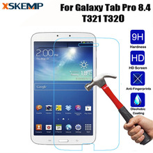 For Samsung Galaxy Tab Pro 8.4 SM-T320 T321 T325 Ultra thin Clear 2.5D Premium Tempered Glass Screen Protector Film Tablet Guard