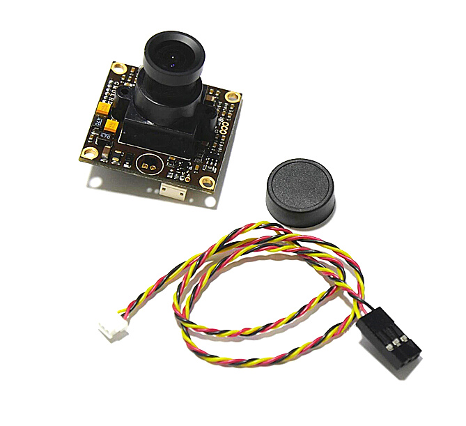 DC12V 1/3 960H CCD 700TVL 2.8mm Lens Wide Angle Camera for FPV QAV250<br><br>Aliexpress