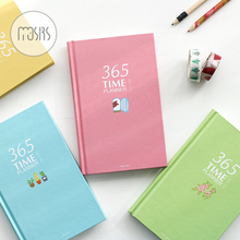 365 Day Plan Weekly Day Planner Notebook school Diary 128 sheets paper agenda planner organizer stationary product supplies gift(China)