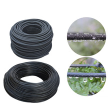 High Quality 25M 4/8 Black Micro Irrigation Pipe Water Hose Drip Watering Sprinkling Home Garden Drip Arrow Automatic Water Kit