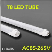 FedEX Free shipping led fluorescent 18W 20W 1200MM T8 LED Tube Light High brightness SMD2835 25LM/PC 96led/PC 2400LM AC85-265V(China)
