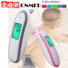 Ear & Forehead Thermometer Digital Thermometer Fever Adult Body Thermometer for Baby(China)