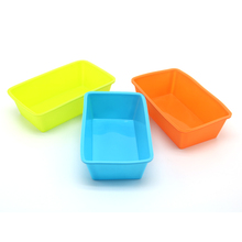 1 PC 12.4*7.5*3.7 cm Rectangle Shape Silicone Cake Mold High Quality Fondant Baking Mould DIY Silicone Bakeware Bread Mold 35