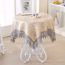 4 color 120*120cm Damask Fabric Tablecloth Refrigerator Towel Round Square Rectangle Tablecloths Multi-purpose Home Decor