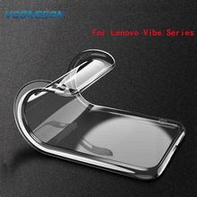 Buy Clear Back Cover TPU Phone Case Lenovo Vibe k5 S850 A2010 A2020 A6000 A7000 K6 Note C2 P2 P1 P1M P70 X2 A8 A1010 X3 Lite for $1.31 in AliExpress store