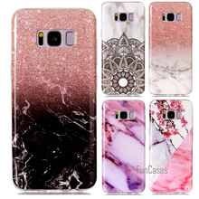 Silicone Cover Case For Samsung Galaxy S8 Plus S8plus S 8 Etui Capinhas Hoesje Coque Fundas Carcasa Capa Protector Shell Cases(China)