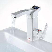 Electric Hot Water Faucet Instant Water Heater Tap Hot and Cold Kitchen Water Heater Tap Electric Bathroom and Kitchen Faucet