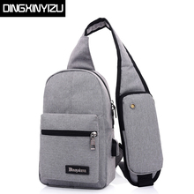 Buy DINGXINYIZU Canvas Men Chest Pack Women Single Shoulder Strap Back Bags Travel Male Crossbody Bags Sling Shoulder Bags Back Pack for $13.79 in AliExpress store