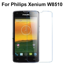 For Philips Xenium W8510 Tempered Glass Original Protective Film Explosion-proof Screen Protector for Philips W8510 Glass Film(China)