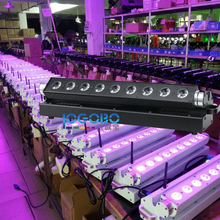 Fast Shipping 9x15W RGBWA Led Linear Wall Washer American DJ Uplighting DMX Wedding Cheap DJ Equipment Packages Floodlights