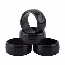 4pcs/set RC Racing Speed Drift Tires 26mm Width Hard Tyre 1:10 On-Road Rc Drift Tires Drifting Car 6015 Black(China)