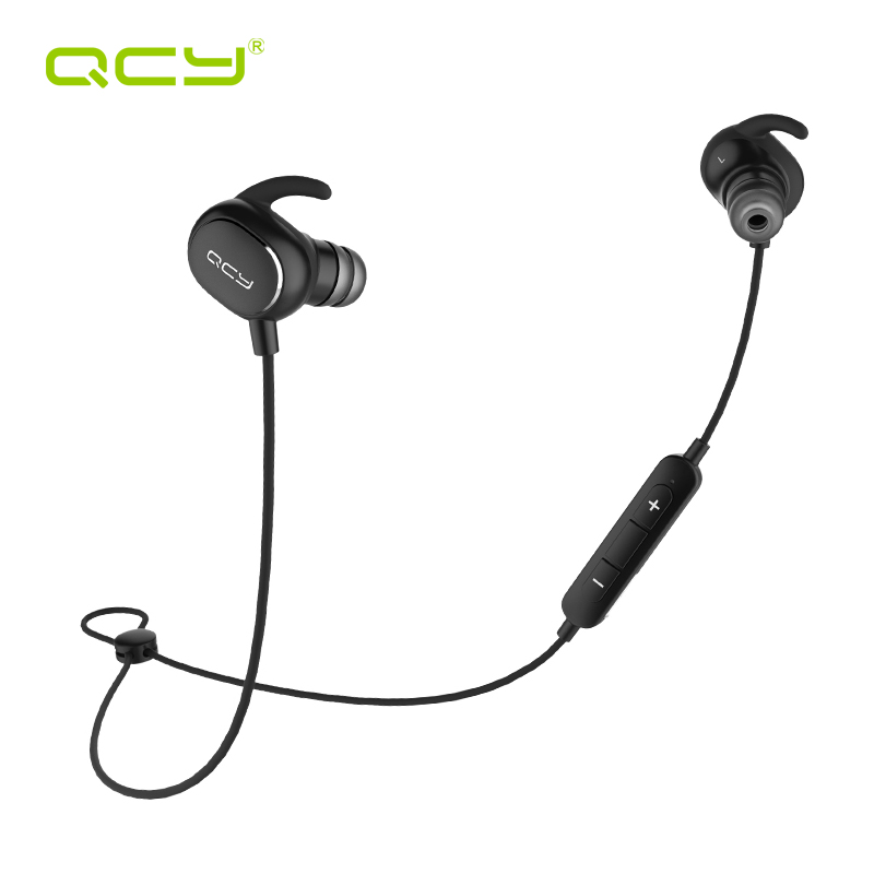 QCY QY19 3D stereo headphones bluetooth V4.1  wireless sports earphones HiFi aptx headset with MIC handsfree calls<br>