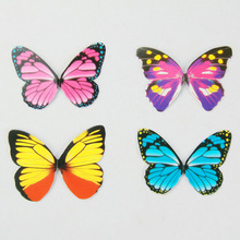 50PCS/set Paper Butterfly Wedding Cake Topper Wedding Cake Stand Wedding Decoration Cake Decorating Supplies Wholesale(China)