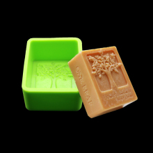 Rectangular Silicone Mold Soap Natural Soap Shaped Christmas Cake And Pastry Baking Kitchen Making Pastry Decorating Tools