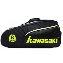 New Kawasaki Sports Man's Backpack The Large Capacity Badminton Racket Tennis Racket Accessories Bag Package for 6 Rackets(China)