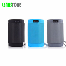 Lenas Portable Mini Bluetooth Speaker Wireless Boombox Speakers LED Light Stereo Handsfree Speaker With Mic For iphone Samsung