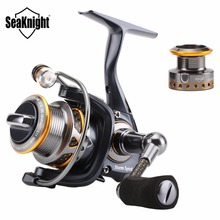 SeaKnight SS1000 5.1:1 Anti-Corrosive Spinning Fishing Reel 11BB Saltwater Spinning Wheel Carbon Fiber Fishing Reel +Spare Spool(China)