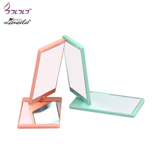 LAMEILA mirror 360 degree rotating creative folding makeup mirror metal beauty mirror ladies at home go out essential supplies