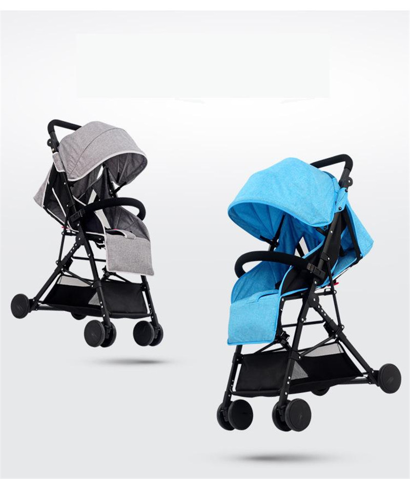3 in 1 Bebe Umbrella Car High Landscape Ultra-light Baby Stroller Folding Baby Girl&Boy Carriage 0-3 Years Old Purple,Red,Blue.03
