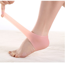 2 pair Gel Heel Socks Foot Pedicure Care Toe Straightener Bunion Corrector Foot Care Silicone Women Men Protector Feet Massager