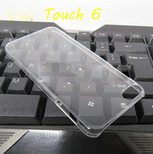 New Arrival Clear Crystal Cell Phone Fundas for iPhone iPod Touch 6 Case Cover Hard PC Transparent Phone Shell Coque Capa