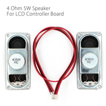 4 Ohm 5W LCD Panel Speaker Amplifier audio frequency Output 1 Pair with 4Pin cable Free Shipping