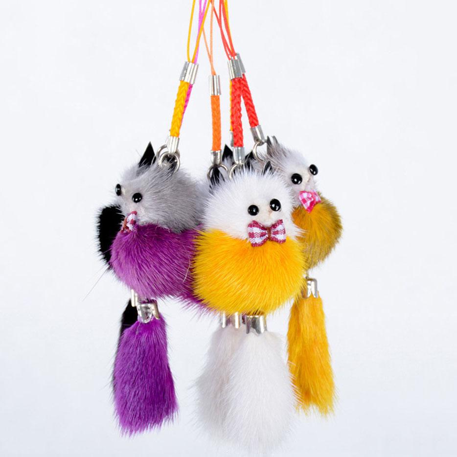 Keychain fox animal 2