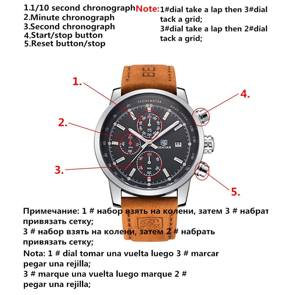 Watches Men Luxury Brand Quartz Watch Fashion