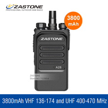 New ZT-A28 Walkie Talkie UHF 400-480MHz 10W Two Way Radio HF Transceiver Communication Equipment Ham Radio Portable Transceiver(China)
