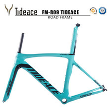 2017 Tideace carbon bike frame 700C bicycle carbon road frameset with fork and PF30BB accessories V brake chinese carbon frames(China)