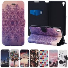 Buy Luxury PU Leather Case Coque Sony Xperia E5 Case 5.0 Inch Stand Wallet Card Slot Flip Cover Fundas Sony E5 Case Capa for $3.49 in AliExpress store