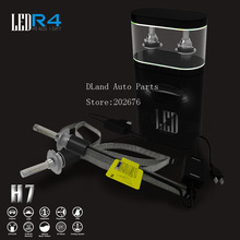 FREE SHIPPING, DLAND R4 30W 3600LM AUTO CAR LED BULB LAMP H1 H3 H7 H8 H9 H11 9005 9006 H4 FOR PHILIPS LED