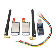 2pcs SV611 Industrial Wireless RF Module +2pcs Rubber Antenna+2pcs Connecting Wire+1 Piece USB Bridge Board