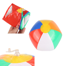 100% brand new and high quality Beach Ball Inflatable MIni colorful  Balloons Swimming Pool Play Party Water Game HOT!