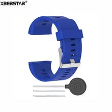 Silicone Wrist band Bracelet Watch Strap for Polar V800 HR GPS Sports Watch Watchbands(China)